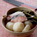 鮭とじゃがいものあっさり煮
