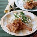 鶏もも肉のレモンマリネ揚げ