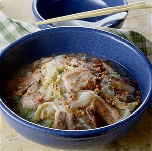 豚バラ肉と白菜のスープ煮