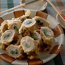 豚肉の野菜巻き天ぷら