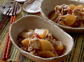 豚肉と大根のこってり煮