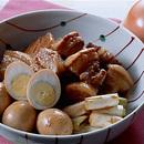 豚肉とゆで卵のしょうゆ煮