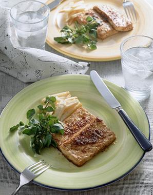 豆腐のピリ辛マリネステーキ