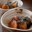 にんじんとかぼちゃの炒め煮ごままぶし