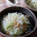 白菜と干えびのスープ煮