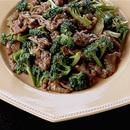 牛肉とブロッコリーの炒めもの