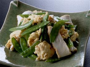 いり卵と豆腐の炒めもの