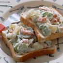 たっぷりきゅうりのサーモンポテトサラダ