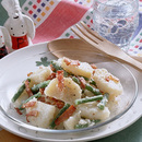 カリカリベーコンのジャーマン風ポテトサラダ
