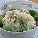 グリーンアスパラのツナソースポテトサラダ