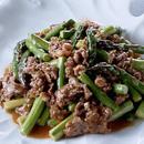 牛肉とアスパラガスの炒めもの