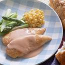 鶏ささ身のクリーミー照り焼き