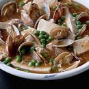 あさりと豆腐のスープ煮