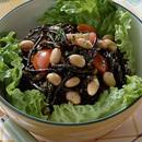 ゆで大豆とひじきのサラダ