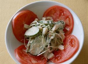 きゅうりのピリ辛サラダ