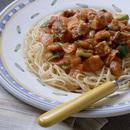 いわしのトマトスパゲティ