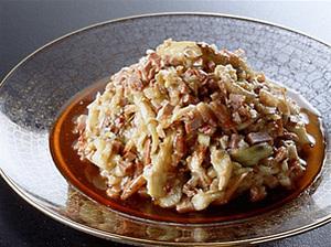 焼きなすの中国風サラダ