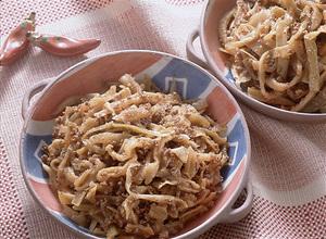 ひき肉入り韓国風煮
