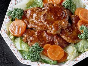 牛肉の中国風ステーキ
