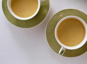ひんやりかぼちゃスープ