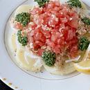ポテトのトマトのせサラダ