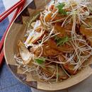 揚げごぼうの中国風サラダ