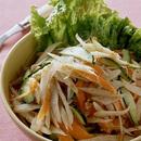 炒めごぼうの和風サラダ