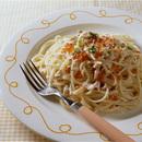 鮭クリームのスパゲティ