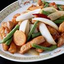 豚肉と野菜の甘酢炒め