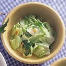 豚ロースと小松菜の煮もの