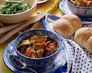 野菜のカレーシチュー