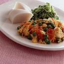 豆腐と卵のほろほろ焼き