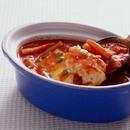 卵入りトマトスープ
