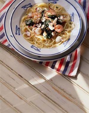 海の幸冷製スパゲティ