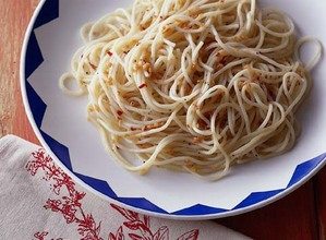 唐辛子とにんにくのスパゲティ