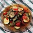 ズッキーニのトマトマリネ