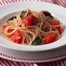 トマトと青じそのスパゲティ