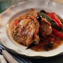 ローマ風鶏の煮込み