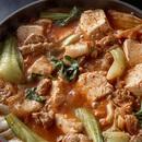 豆腐のキムチ煮