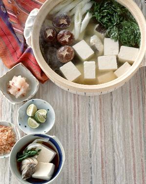 具だくさん湯豆腐