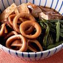 いかと焼き豆腐の甘辛煮