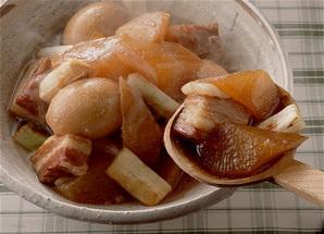 大根と豚バラ肉の中国風煮もの