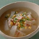 大根とベーコンのスープ煮