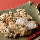 豚肉の長いも巻き天ぷら