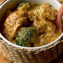 鶏肉とブロッコリーのカレー煮