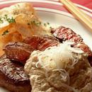 豆腐ソースステーキ