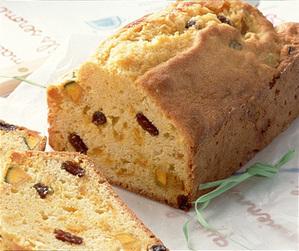 レーズン入りパンプキンパウンドケーキ