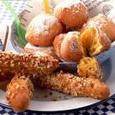かぼちゃのナッツ&シュガードーナッツ