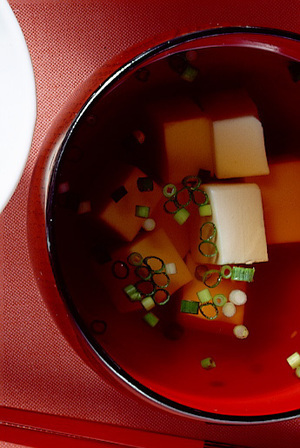 豆腐の吸いもの