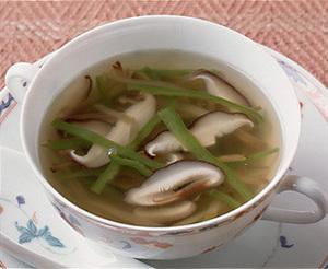 ザーサイ入り野菜スープ